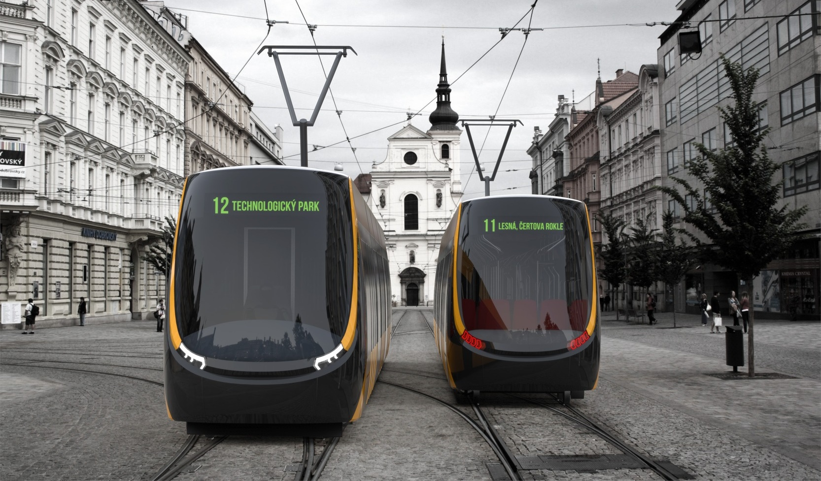 Koncept tramvaje